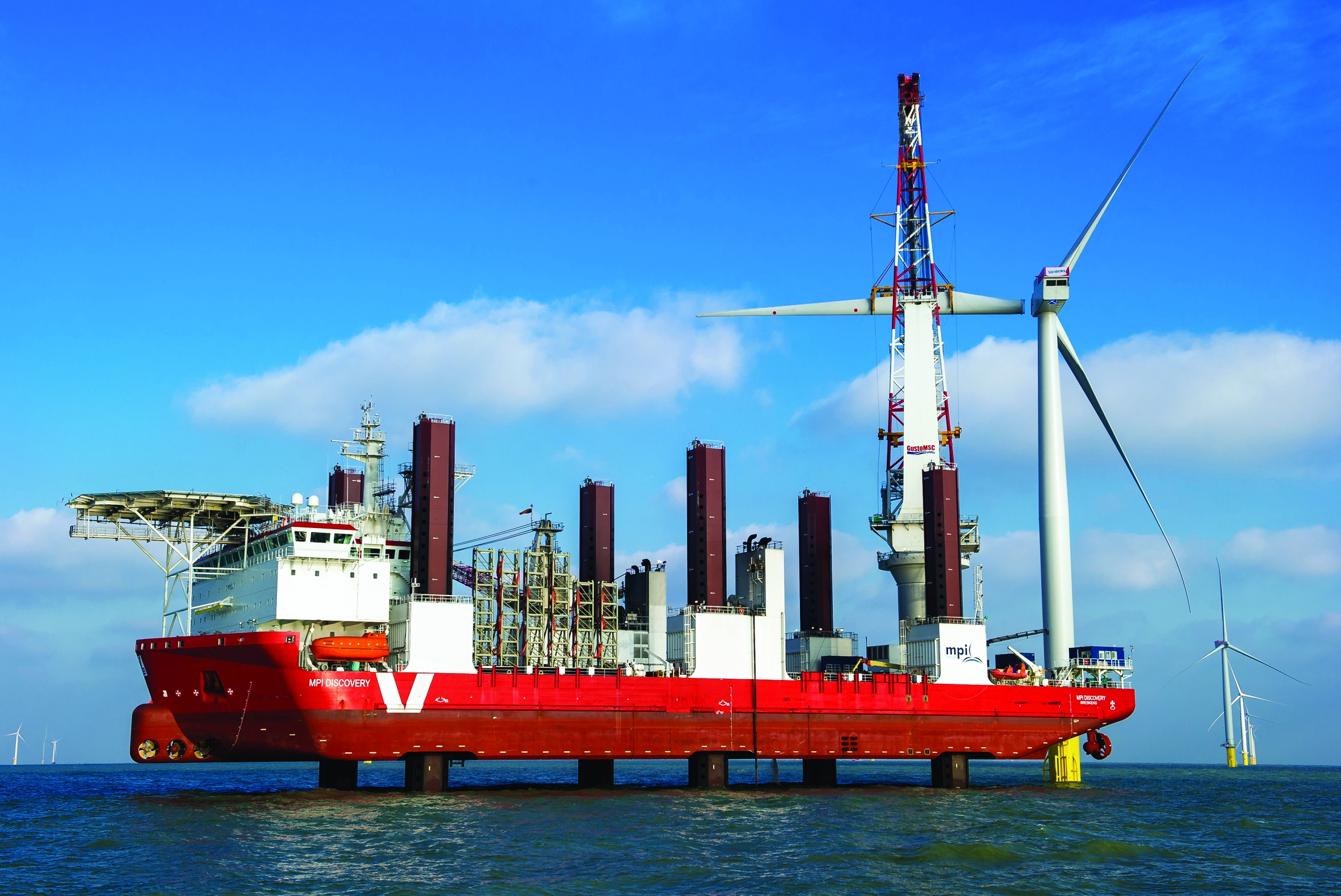 1.2GW of offshore and onshore wind was installed last year