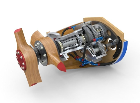 Lawson's team reverse-engineered the gearbox from photos of the original