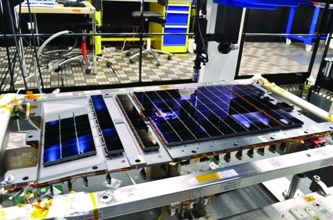 Gaia's light-detecting sensors make up the largest focal-plane array ever sent into space