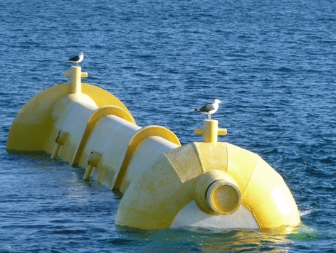 Developed by Marine Current Turbines, SeaGen, at Strangford Lough in Northern Ireland, is the world's first large scale tidal stream generator