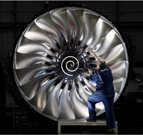 Rolls Royce's family of Trent jet engines makes up around 75% of its order book