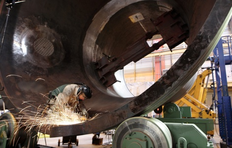 steamgen grinding