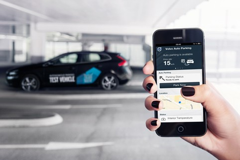 Volvo is one of a number of firms to trial autonomous parking technology