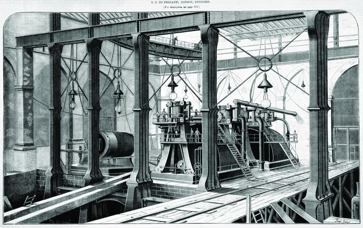 Deptford Generating Station is widely acknowledged as being the first modern power station