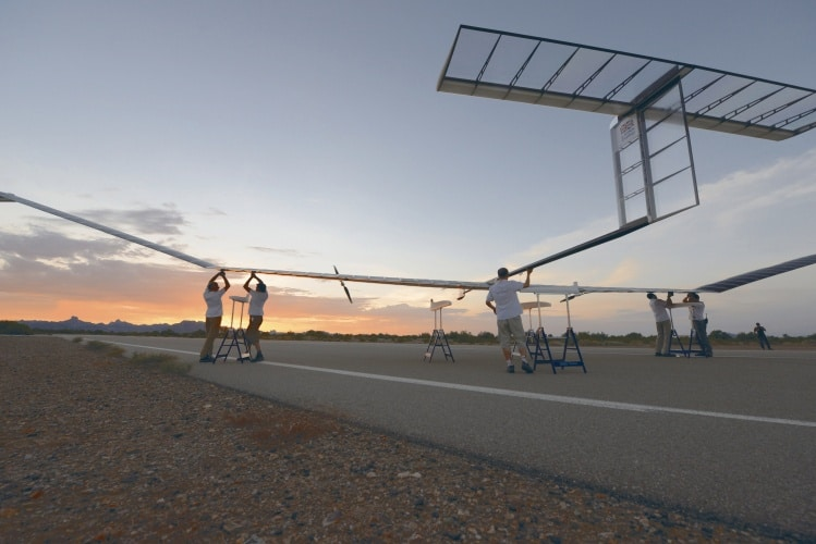 Airbus is also developing a solar-powered aircraft