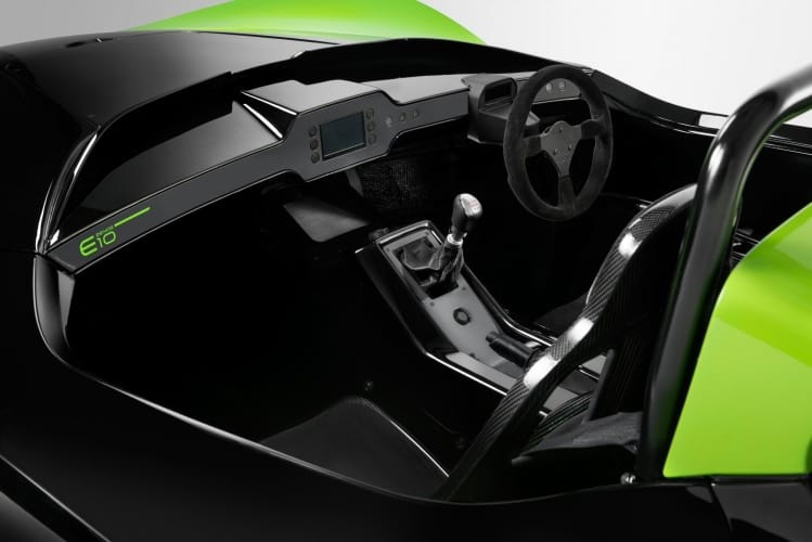 Zenos cockpit