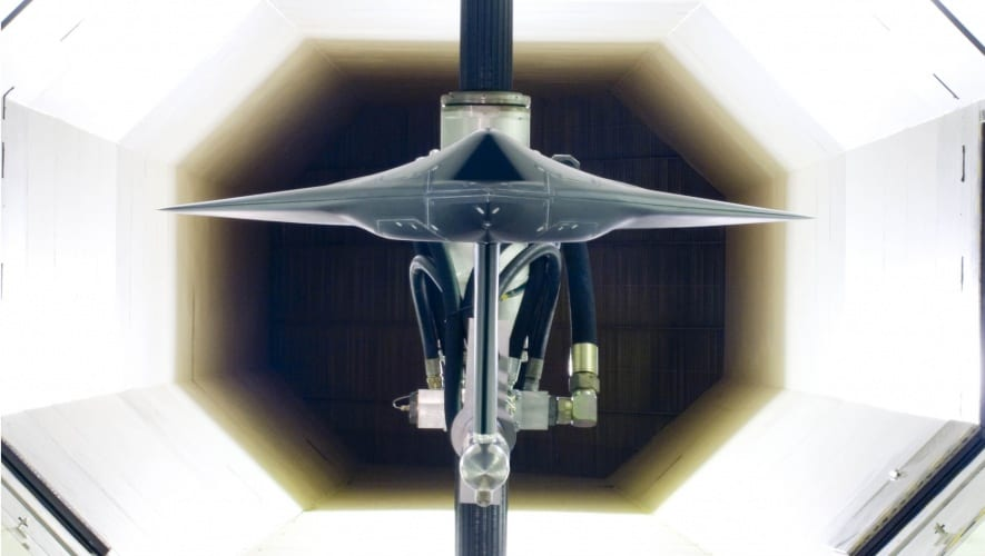 Today, Warton's wind tunnels are used to evaluate a range of advanced new aircraft, includng UAVs