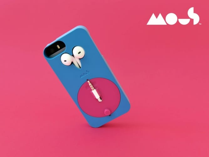 Josh's first product is an iphone case with integrated