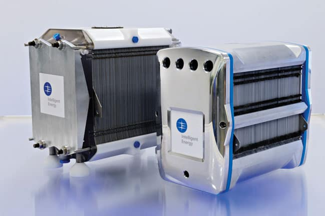 Intelligent Energy's fuel cell stacks