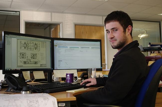 Glen Ebsary Supcat design engineer graduate