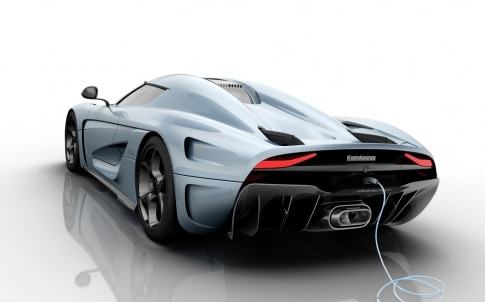 The Koenigsegg Regera was one of a number of high performance hybrids unveiled in Geneva