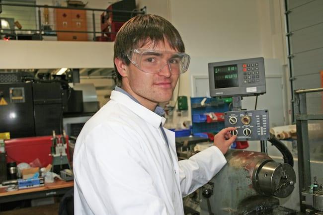 Rupert Barton CDP graduate engineer mechanical