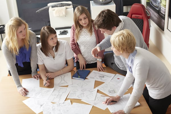 All Bentley trainees develop their team working, presentation, communication, networking and organisation skills through cross-functional business projects, charity activities and school liaison events