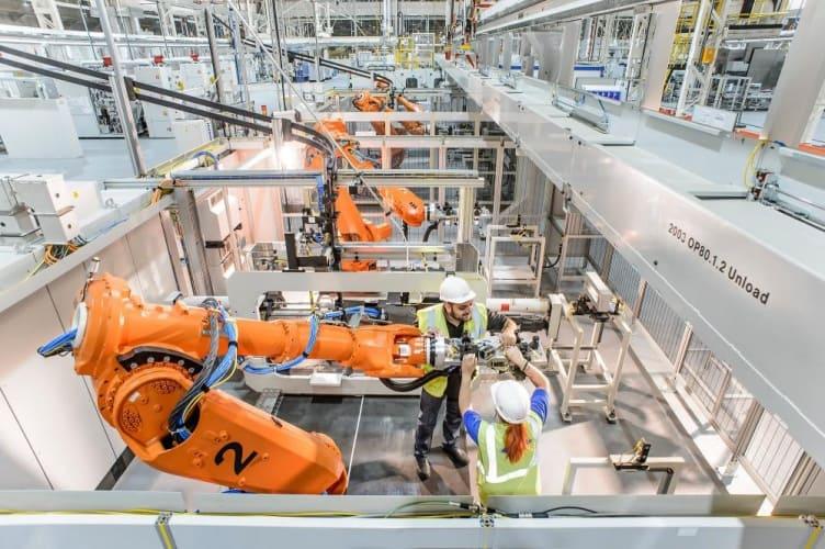 Ford Dagenham Engine Plant factory