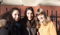 Left to right: Isabella, Judit and Evelien