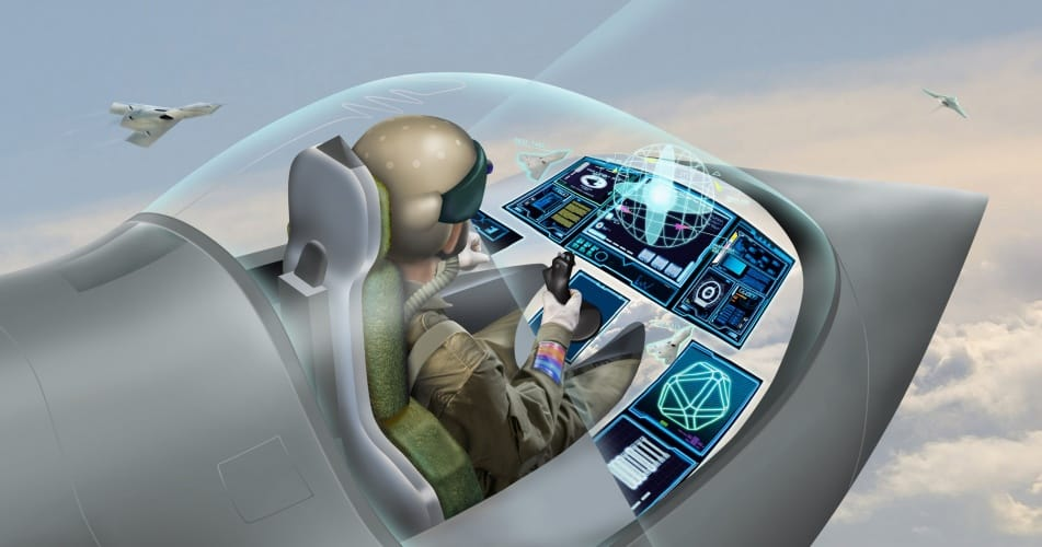 The Virtual Cockpit allows pilots to customise their interface with the aircraft based on their own preferences