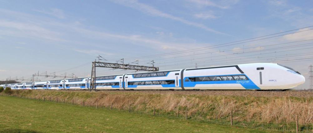 Andreas Vogler Studio has successfully completed an in-depth feasibility study for AEROLINER3000, a new high-speed double decker train design together with the German Aerospace Center Institute of Vehicle Concepts DLR in Stuttgart