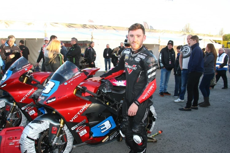 Lee Johnston rides for Victory Racing powered by Parker GVM