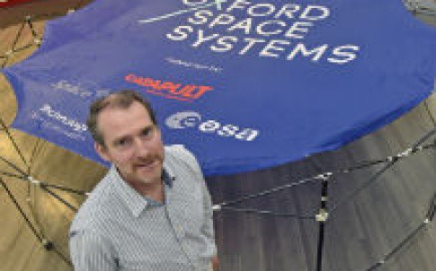 Mike Lawton, founder and CEO of Oxford Space Systems