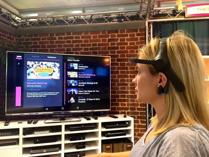 The device, which monitors a user's brainwaves, could offer a lifeline to people with severe disabilities