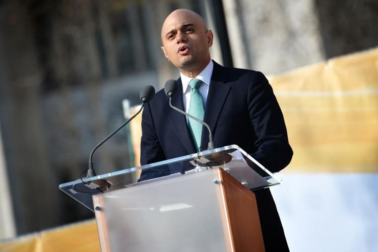 Industry is waiting to hear from new Business Secretary Sajiv Javid MP