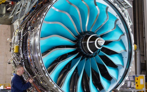 The Advance engine uses a carbon/titanium composite to reduce weight