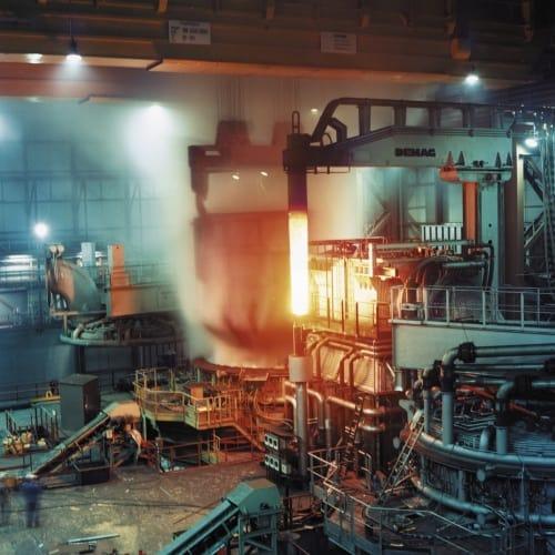 Steel furnace