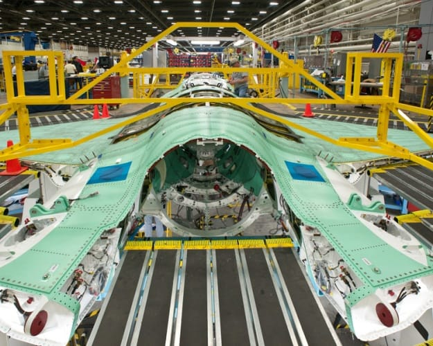 Assembly of the F35