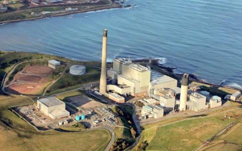 Peterhad CCGT plant, Aberdeenshire