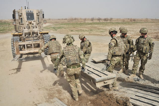 Being an engineer in the Army requires the ability to adapt and react quickly to situations