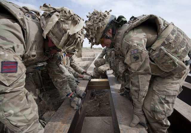 There's no such thing as a 'typical day' as an engineer in the Army