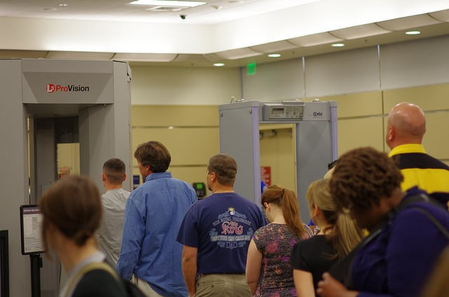 The technology could help improve airport security systems