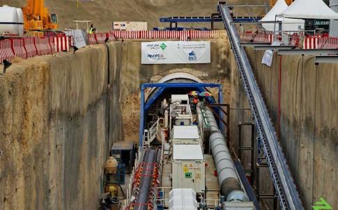 Tunnelling has begun on the Riyadh metro
