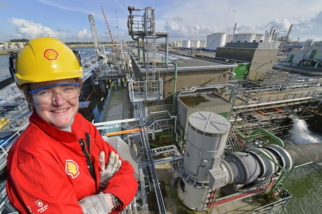 Colette Legein, a qualified Chemical Engineer and Project Manager at Shell, has worked in the oil and gas industry since 1992