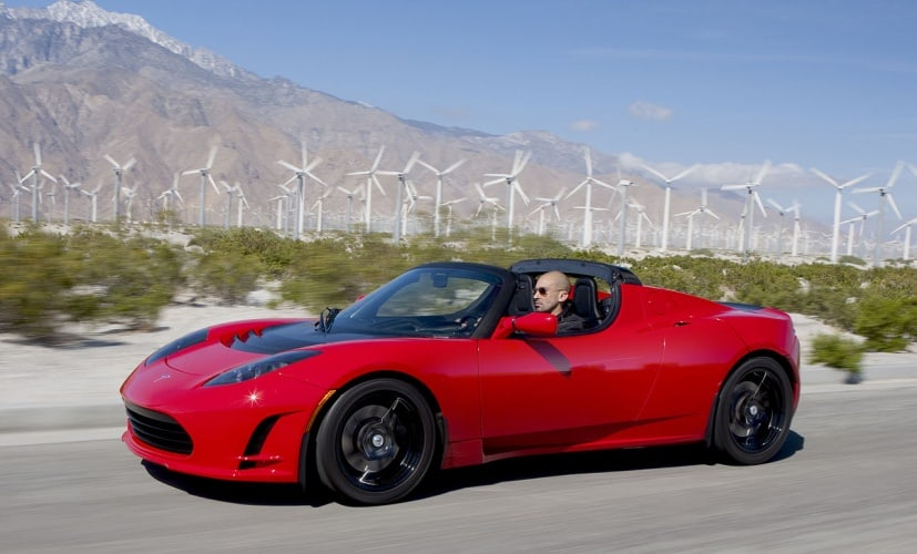 The growth in electric cars such as the Tesla Roadster means that electrical engineers are increasingly in demand in the automotive industry.