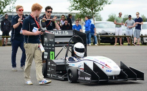 The Delft team won Formula Student for the second time in a row