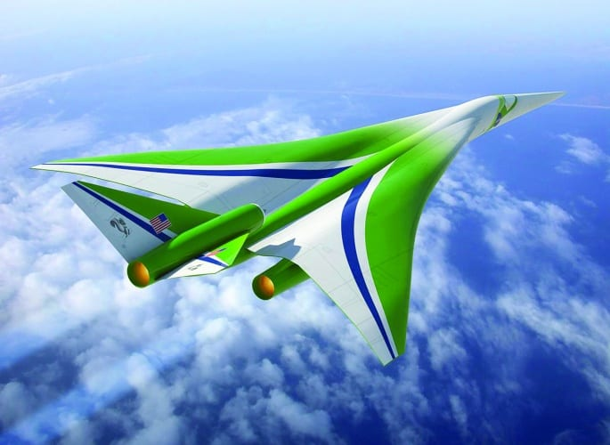 Lockheed supersonic