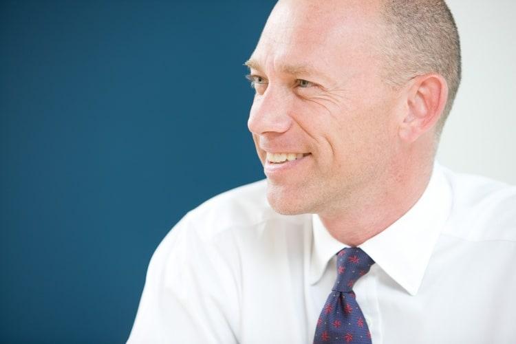 Hays' chief executive Alistair Cox.