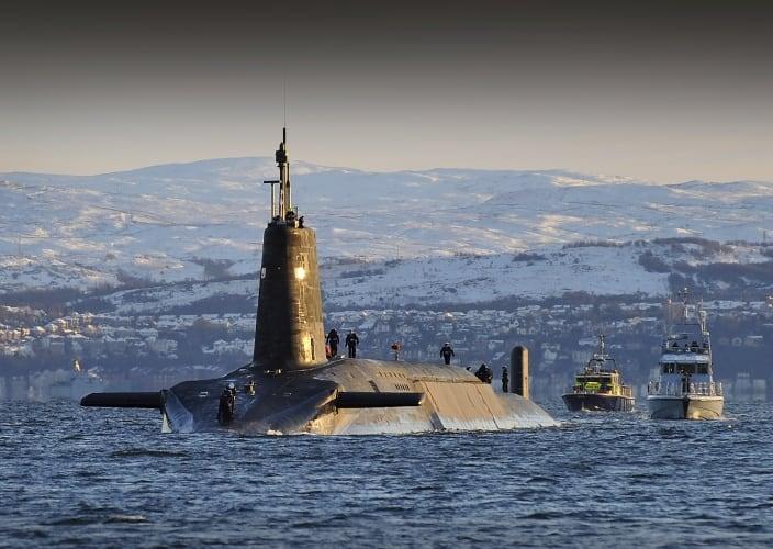 Vanguard submarine trident
