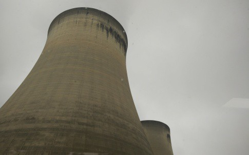 Drax cooling towers