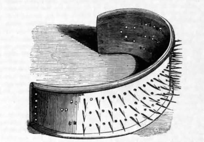 The device was designed to protect well-heeled Victorians from the threat of stranglers