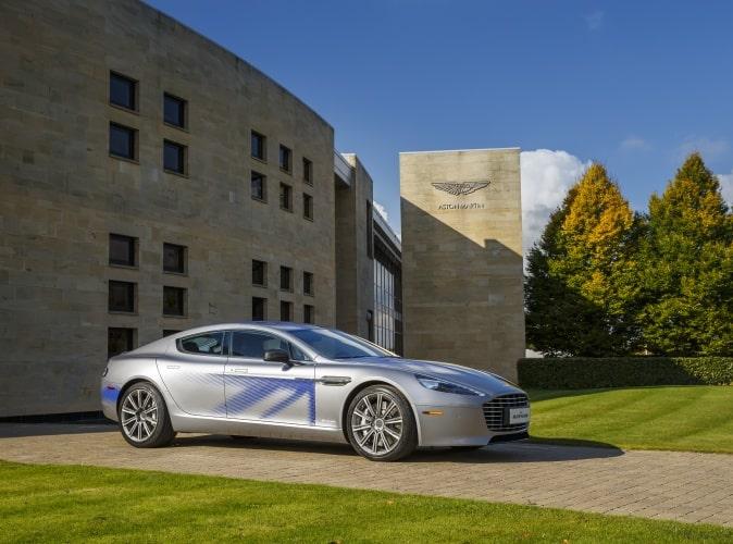Aston Martin's RapidE concept