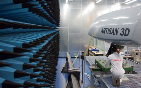 The Artisan radar system was developed by engineers at BAE Systems