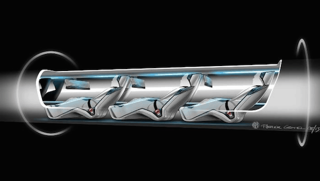 The 760mph capsule-based transportation system could soon be a reality
