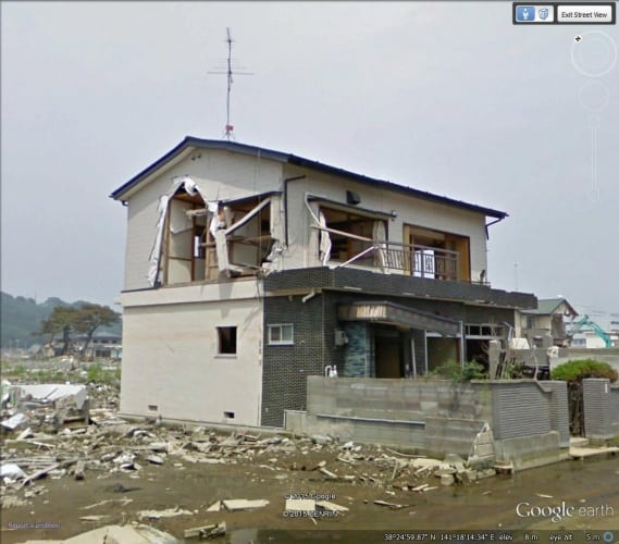 The team compared before and after images from two Japanese cities, Ishinomaki and Ofunato