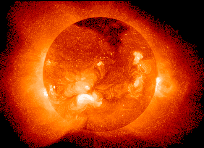 The sun is a natural fusion reactor.
