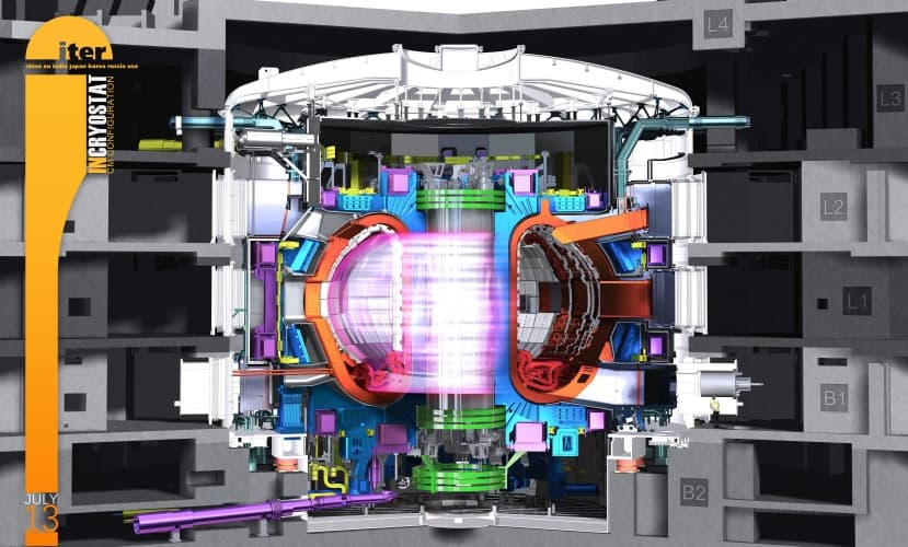 The Iter tokamak will be the world's largest fusion reactor