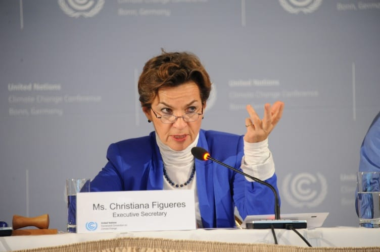 UNFCCC executive secretary Christiana Figueres