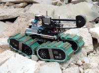 Tracked vehicles are ideal for rugged terrain