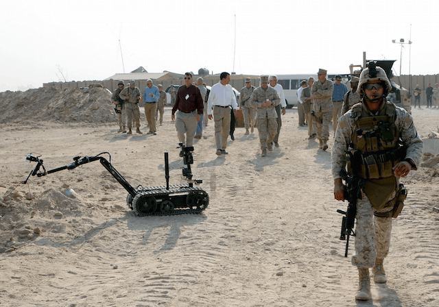 Bomb disposal: the defence sector is a major driver of technology
